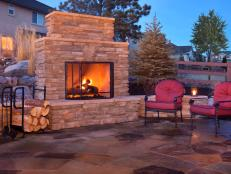 how to plan for building an outdoor fireplace UNPYGTW