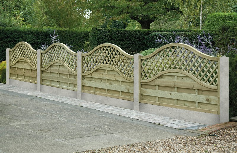 image of: garden fence panels shapes ANGIFLS