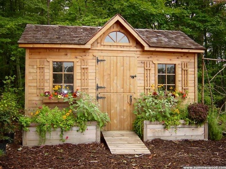 in the garden: 25 charming garden sheds » talk of the house HLDMXPO