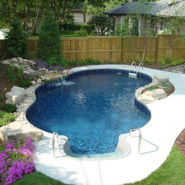 inground pools eberhart project by leisure select DCGZVBL