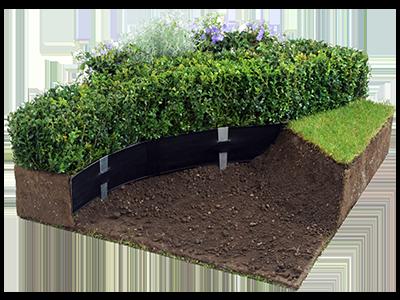 landscape edging plastic lawn edging - 6 inch deep - super-edg - oly-ola TKOBSRD