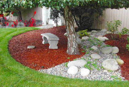 landscaping rocks ... diy landscaping with rocks and stones designs ideas and online 2016  photo gallery ... GRHLKII