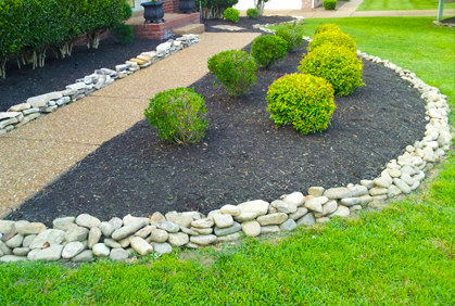 landscaping rocks ... top 2016 landscaping with rocks and stones design ideas photos and diy  makeovers ... THEAAQR