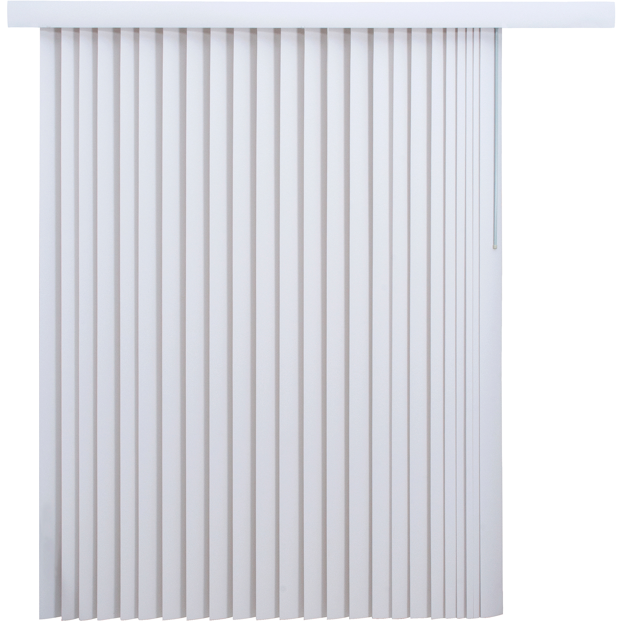 mainstays light-filtering vertical blinds, white - walmart.com FZDQYPS