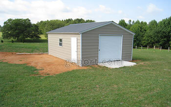 metal garages 20 wide by 25 long by 8 foot leg height by 11.7 peak height metal garage VUZFJSN