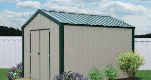 metal sheds liberty-storage-metal-vs-utility-cream-green2-8x12. EJUERQY