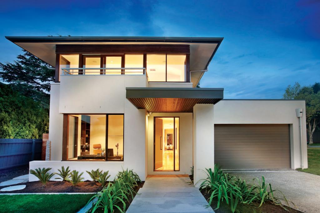 modern house modern style house plan - 4 beds 2.50 baths 3584 sq/ft plan #496-18 EIPSXQG