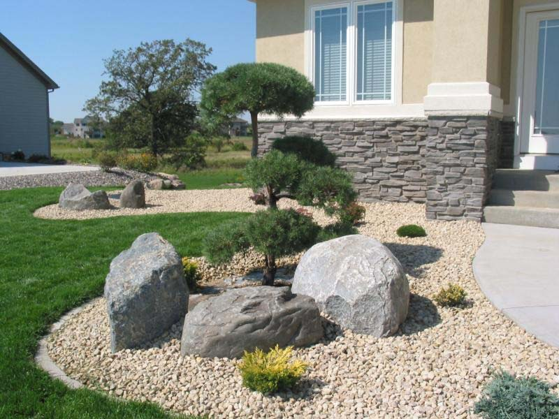 modern landscaping rocks - landscaping rocks - 5 common rocks types you  need to know - ZUPFWCJ