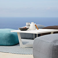 modern outdoor furniture ottomans u0026 occasional side tables · outdoor furniture cushions u0026 accessories SIXXKEF