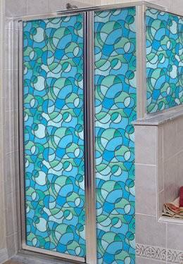 odyssey privacy stained glass window film - window film world EPJFVOC