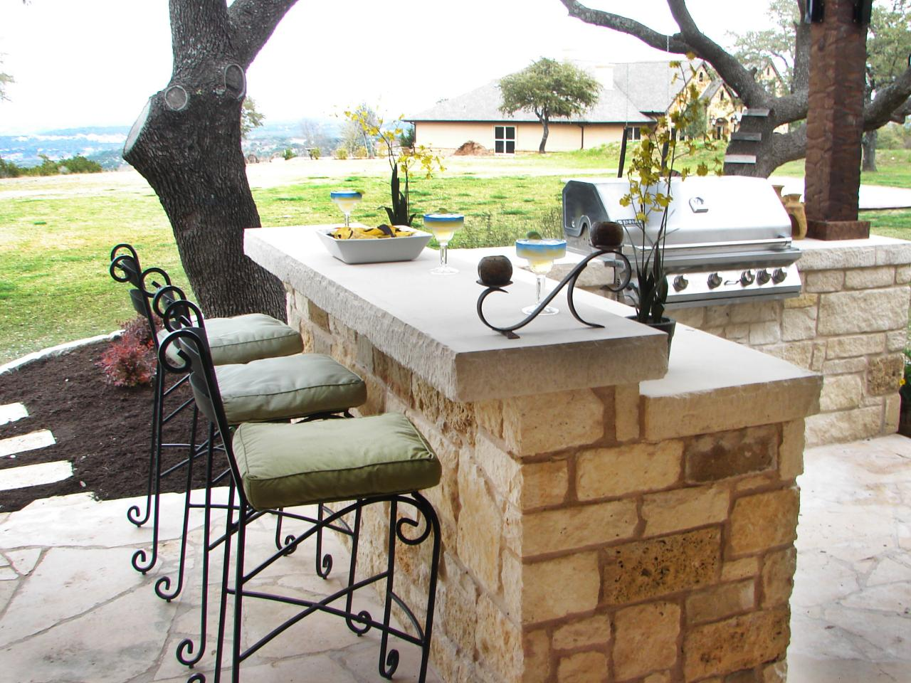 outdoor bar outdoor kitchen bar ideas: pictures, tips u0026 expert advice | hgtv RVBXDUJ