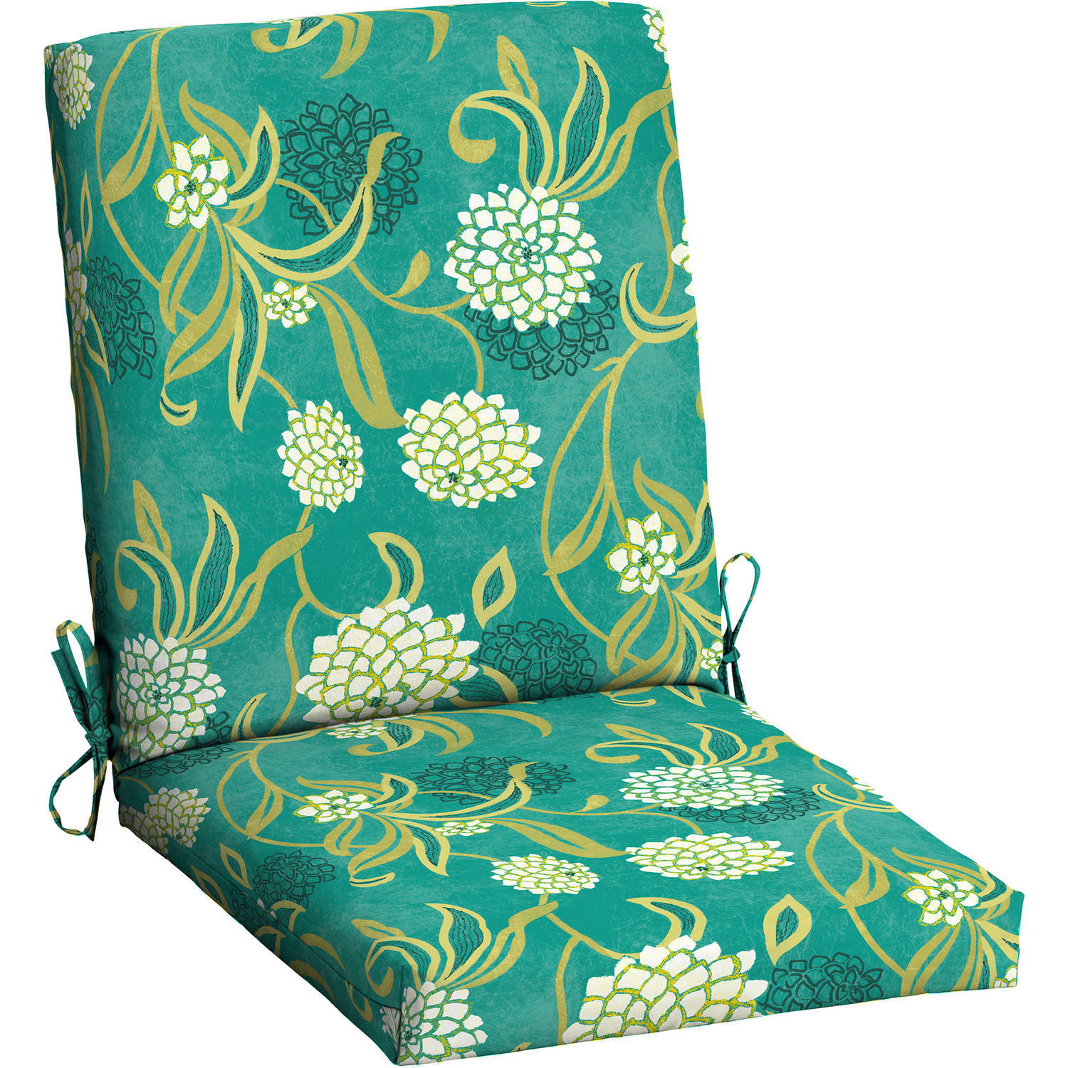 outdoor chair cushions mainstays outdoor patio dining chair cushion LPUQWYH