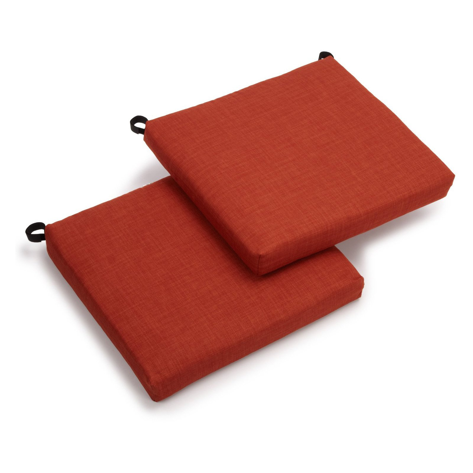 outdoor chair cushions - set of 2 - outdoor cushions at hayneedle RNUAWNR