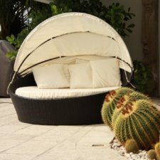 outdoor daybed with cushion VTSVBHI