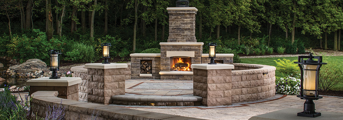outdoor fireplace no ... GUVHDLD