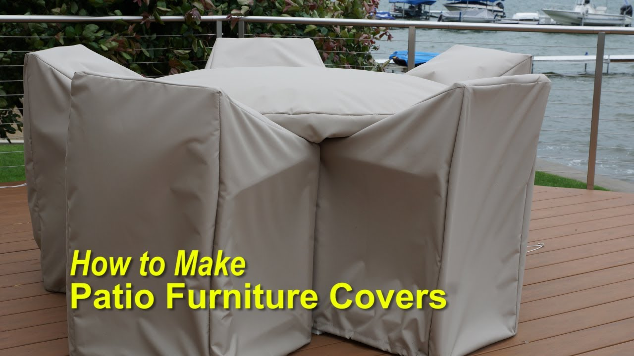 outdoor furniture covers how to make patio furniture covers - youtube AOARBKB