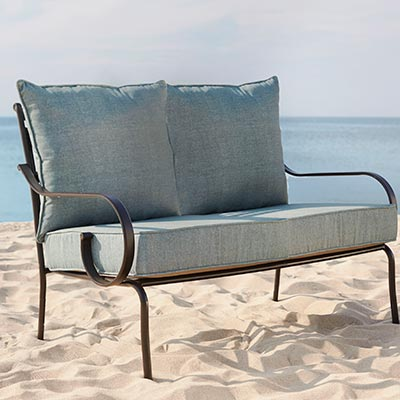 outdoor furniture cushions sofa u0026 loveseat cushions WGGQPKH