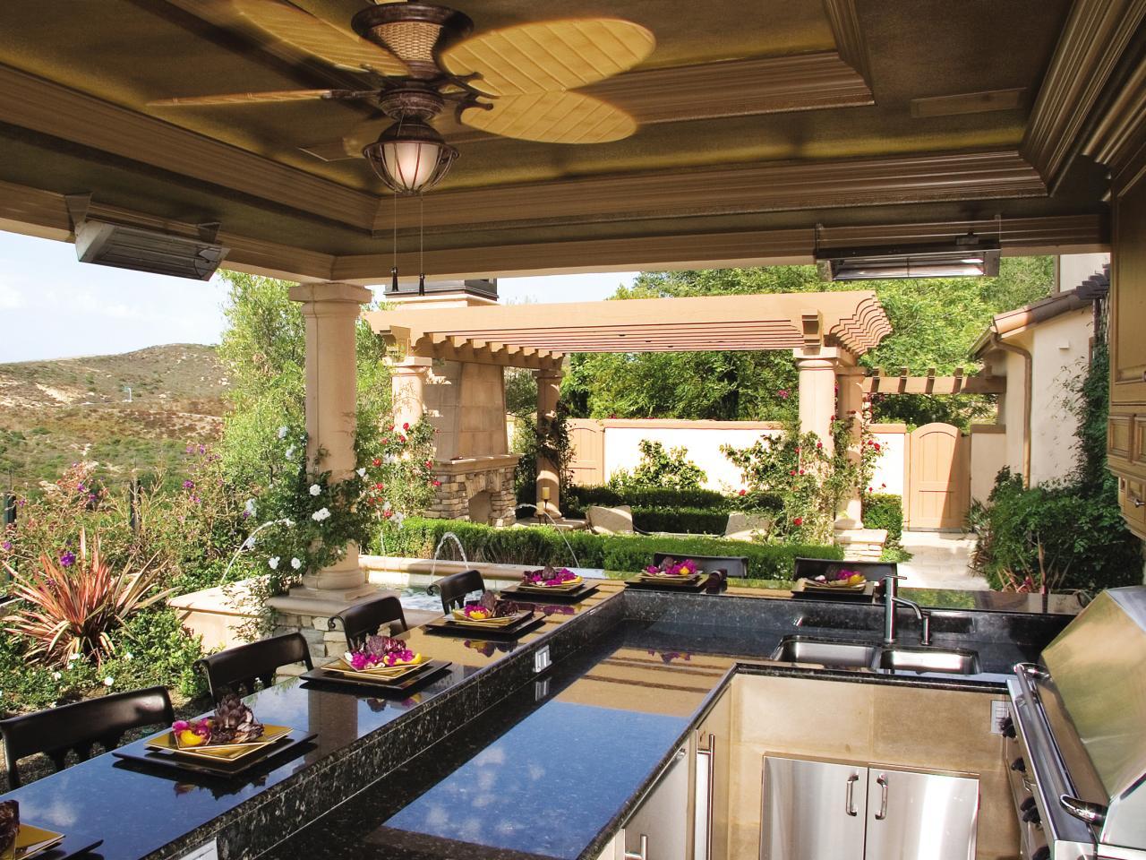 outdoor kitchen countertops options CZGVVJW