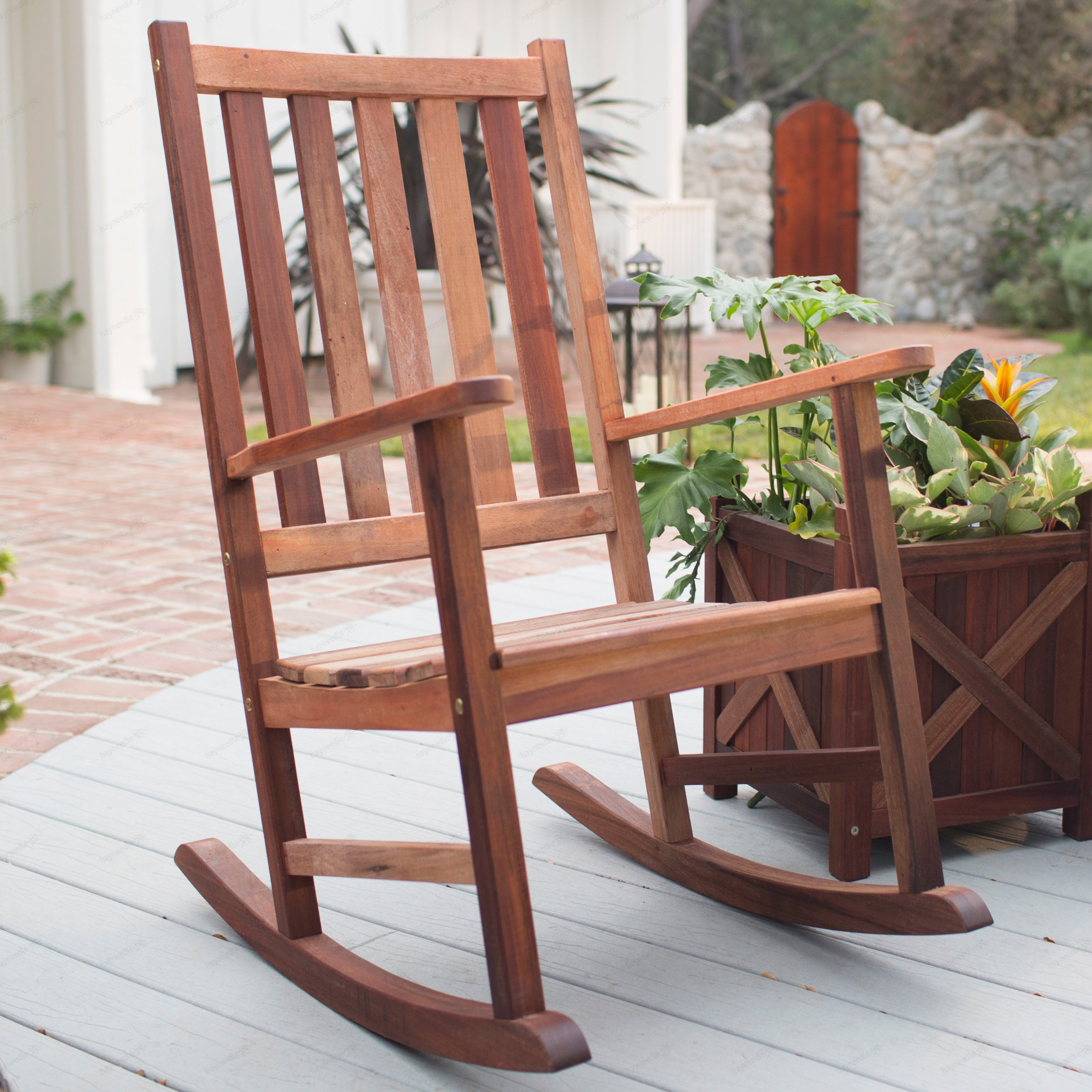 outdoor rocking chairs belham living richmond heavy-duty outdoor wooden rocking chair - outdoor  rocking chairs at hayneedle XMONYAF