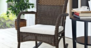 outdoor rocking chairs coral coast harrison club style rocking chair with cushion - outdoor  rocking chairs at hayneedle JTDJZHU