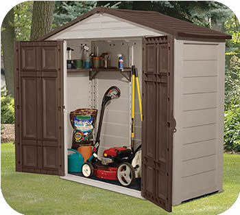 outdoor storage sheds suncast 8x3 resin plastic storage shed w/ floor KOQAYEF