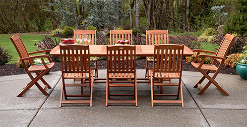 outdoor table and chairs patio furniture dining sets LHVKMFL