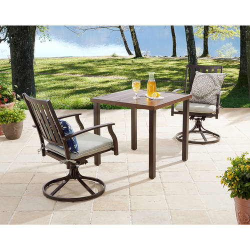 outdoor table and chairs patio furniture - walmart.com ATSCFFQ
