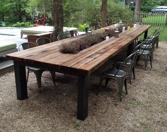 outdoor table hardscapes dou0027s and donu0027ts : what makes your food taste better in your  outdoor WPOKXPI