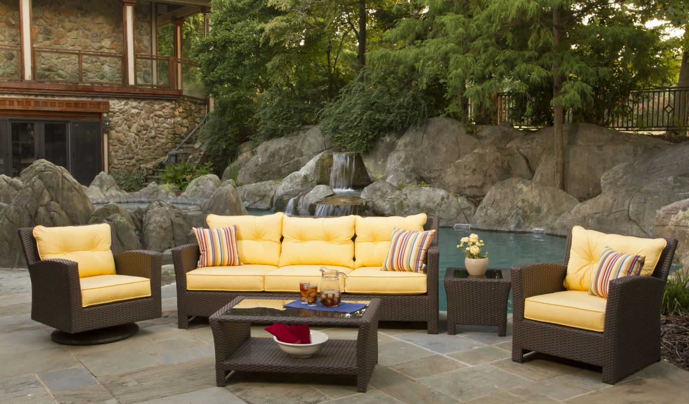 outdoor wicker furniture outdoor wicker sets | sonoma PTPXEMW