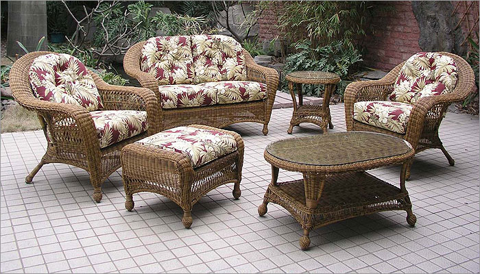 How to paint your wicker furniture?