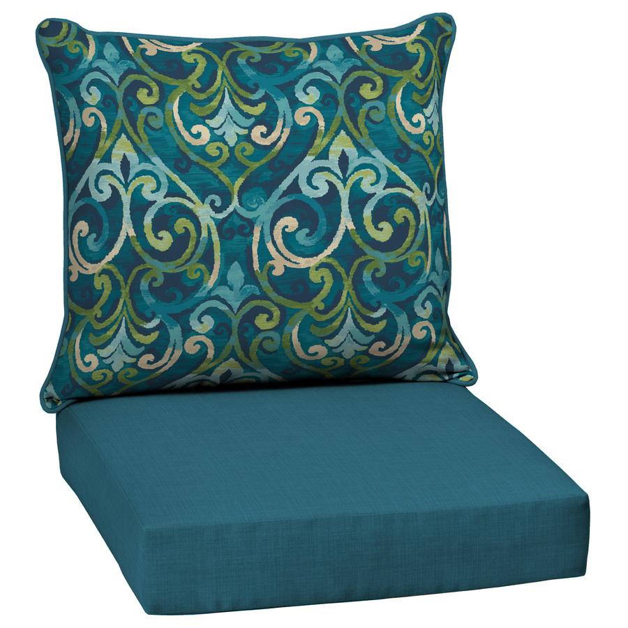 patio chair cushions garden treasures damask deep seat patio chair cushion for deep seat chair KACLHMS