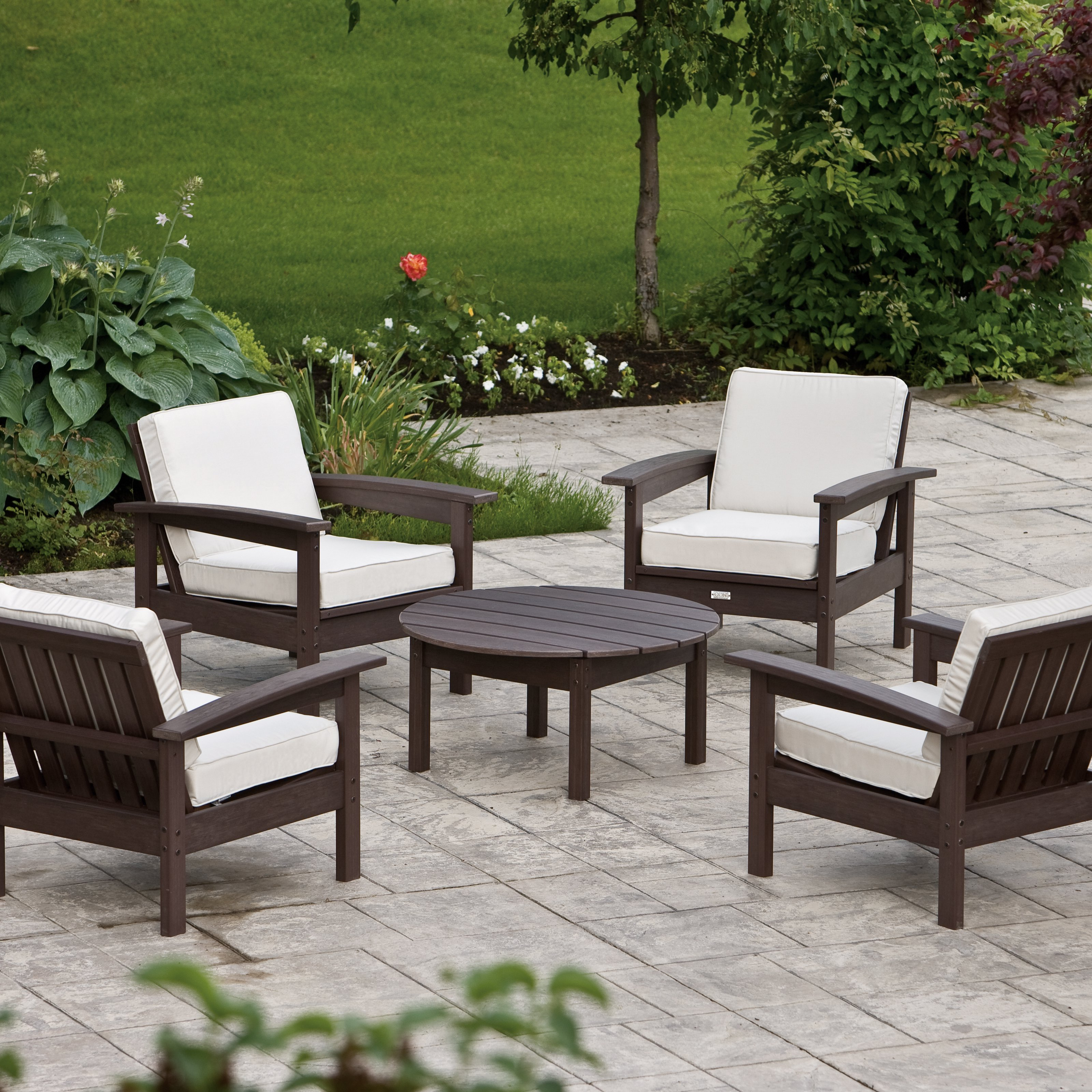 patio conversation sets eon resin outdoor conversation set conversation patio sets at DJDHBSA