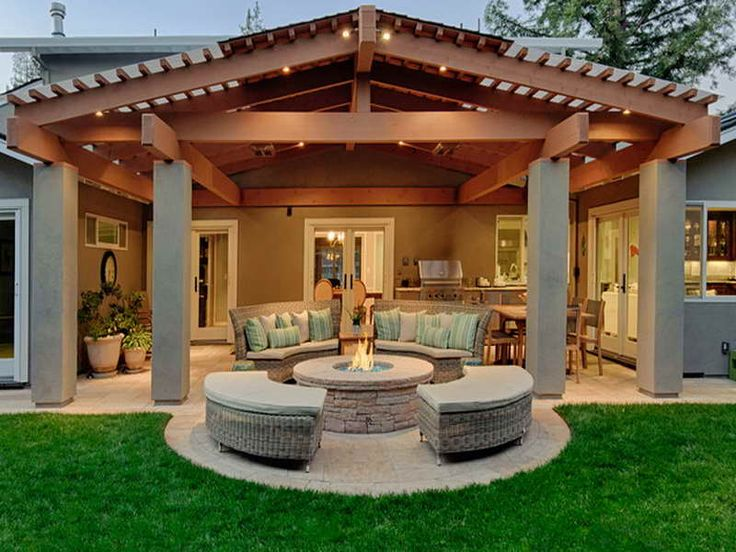 Patio Cover Ideas Modern Backyard Covered Patio Ideas With Fire Pit This Is  Essentially A