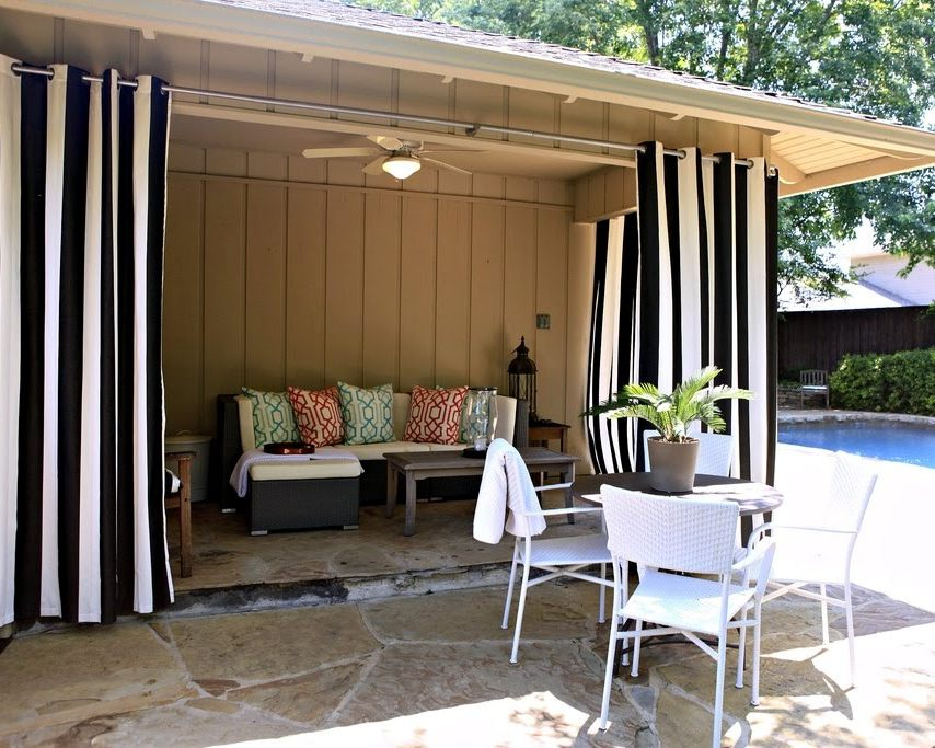 patio curtains - for beautiful patio XUETHAR