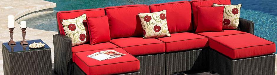 patio cushions replacement outdoor furniture patio cushions, umbrellas, and  outdoor cushions - summer living direct PGVMSKU