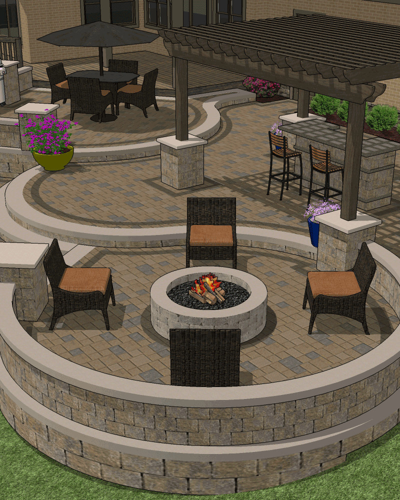Exceptionnel Patio Designs Custom Patio Designing RPWRGUF