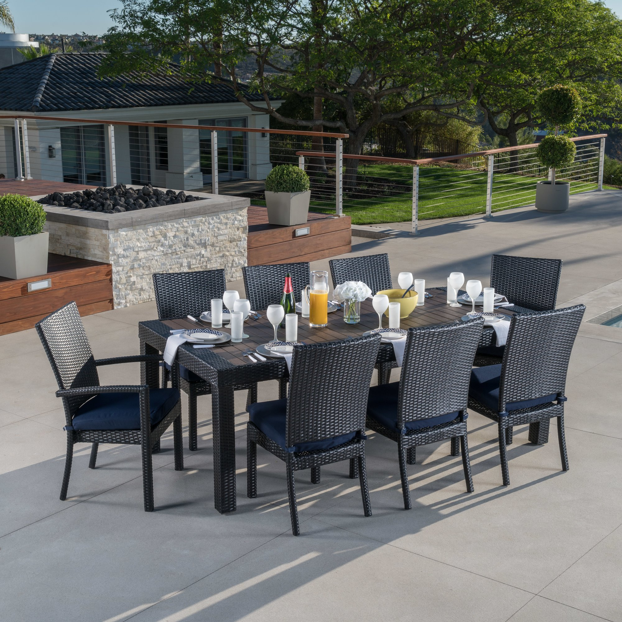 patio dining sets youu0027ll love | wayfair FQZFVEG