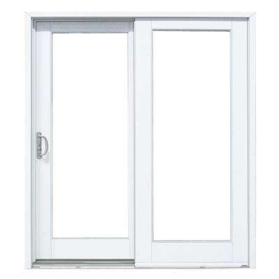 patio doors composite gliding patio door with woodgrain interior OXTYKBF