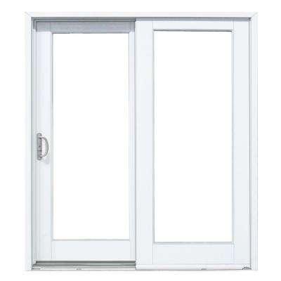 patio doors composite gliding patio door with woodgrain interior OXTYKBF
