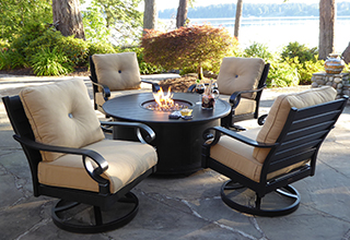 patio furniture sets fire pits u0026 chat sets BOIJUPX