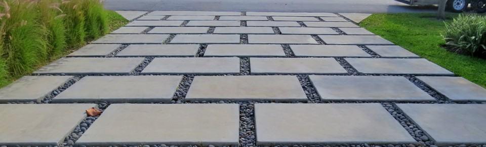patio pavers concrete pad driveway RSJKGVD