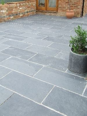 Patio Slabs Black/grey Slate Paving Patio Garden Slabs Slab Tile   Images  Hosted At