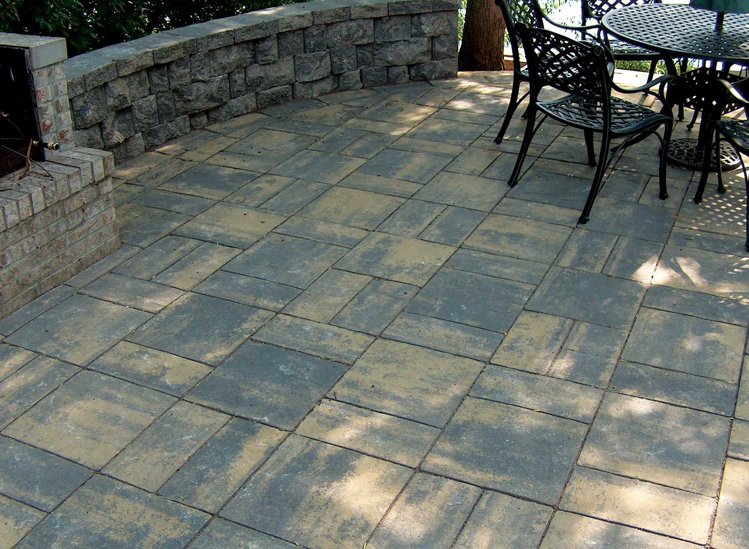 patio stones black sand CIISYXK