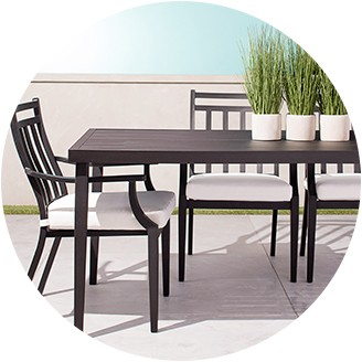 patio table patio furniture sets WOSSMHA