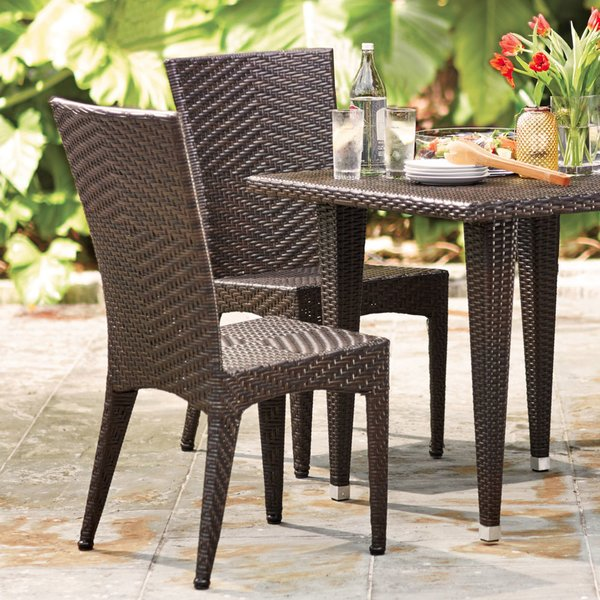 patio table wicker patio furniture BJWSMRD