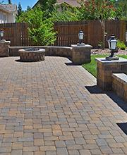 paver stones paver stone patio GKVVDFY