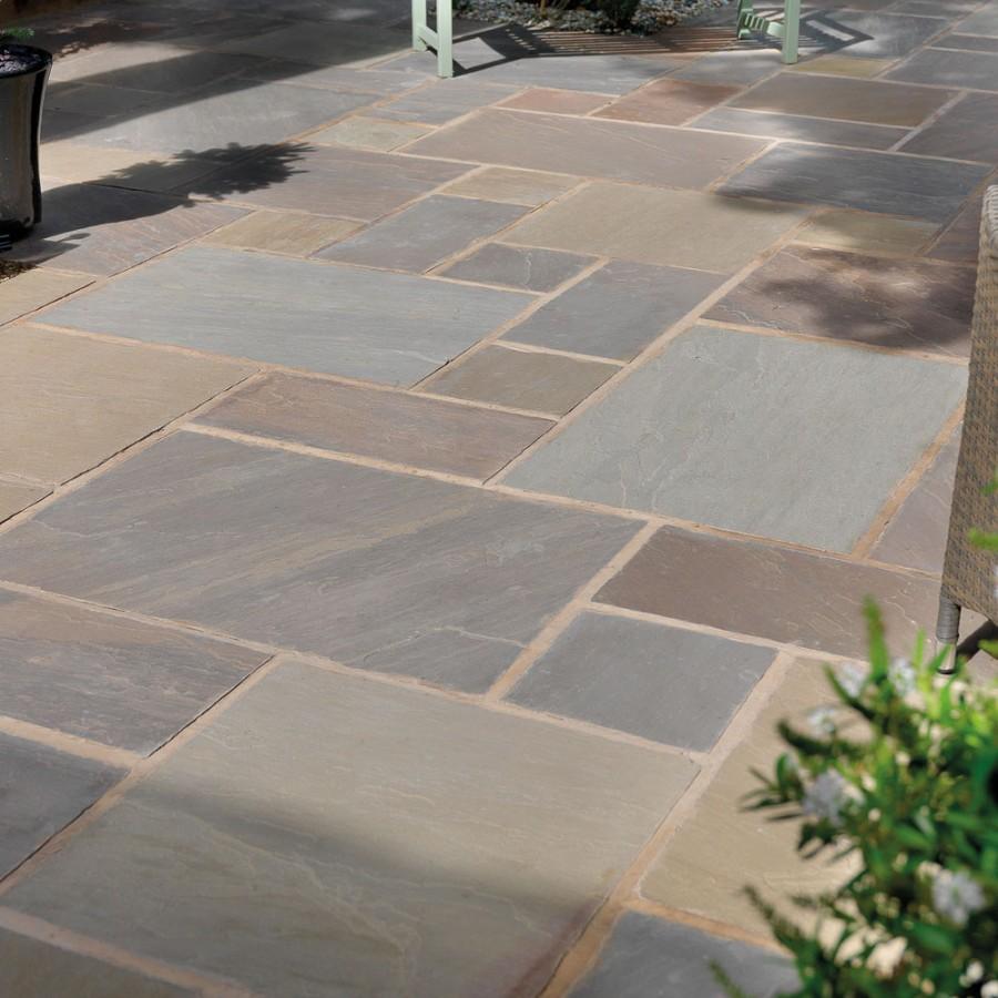 pavestone paving-riven sandstone-raj blend-paving slabs RPFNIVT