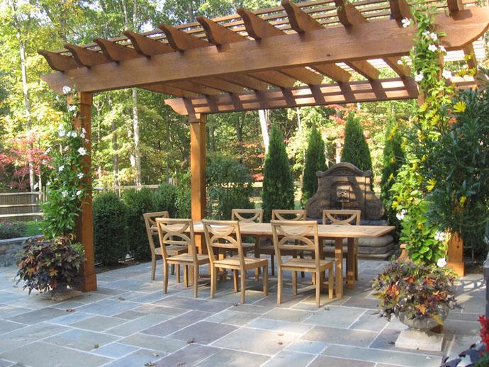 pergola designs ... garden pergola-designrulz-006 ... CTBQMXI