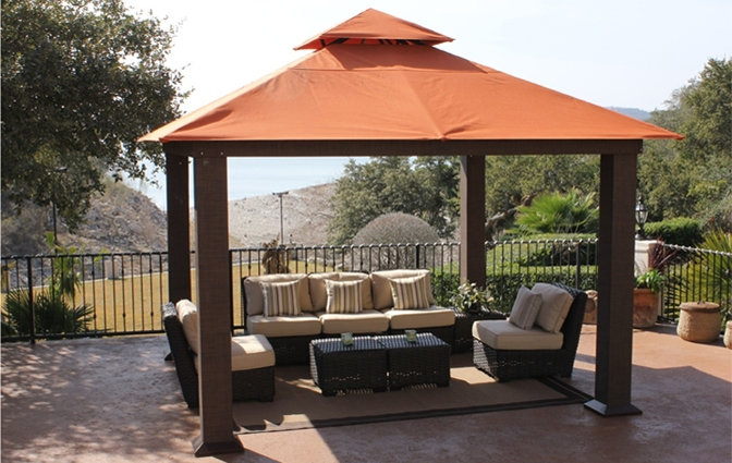Pergola Kits Aluminum Gazebo RDSJCLQ Good Looking