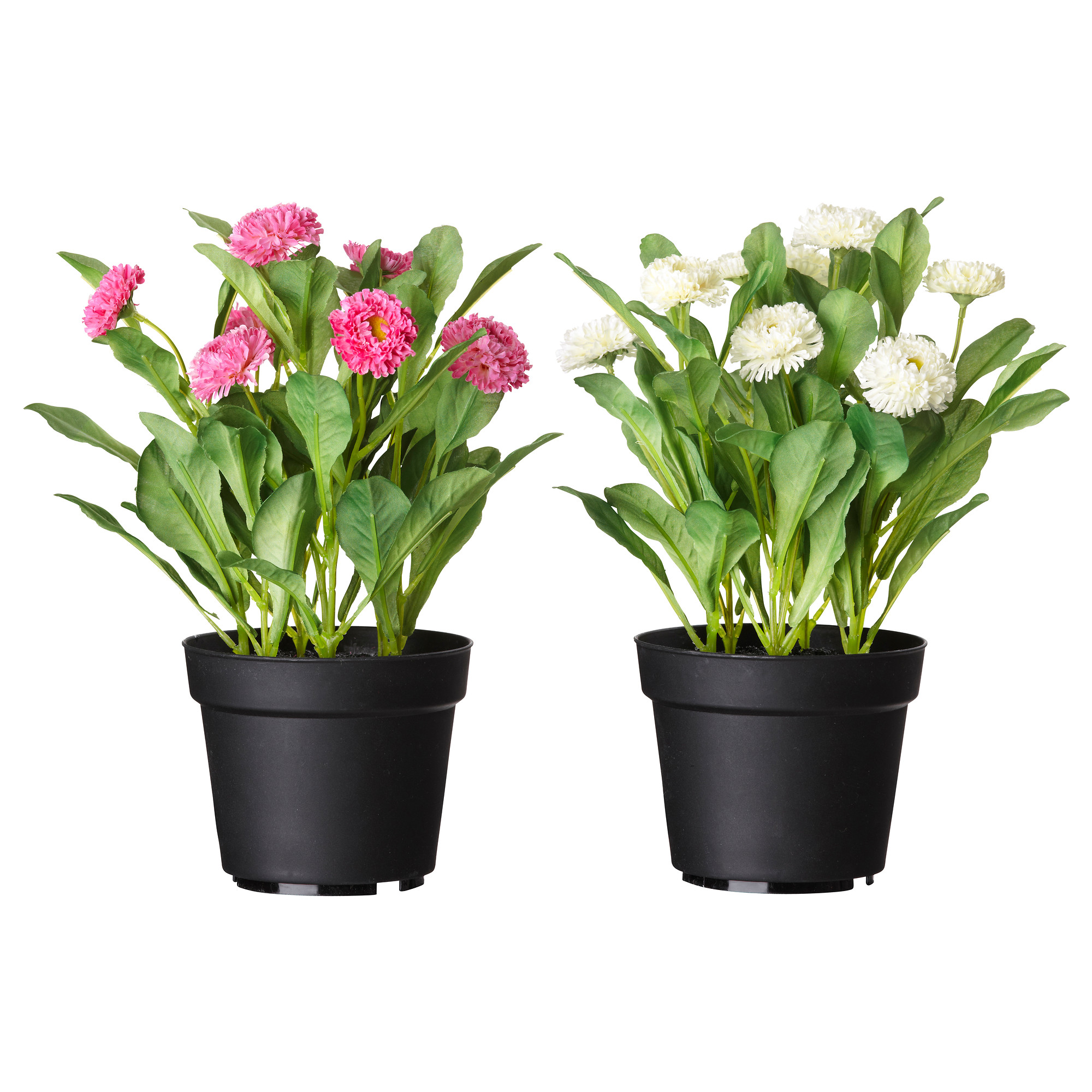 plant pots fejka artificial potted plant, common daisy assorted colors height: 10 ¼  UBEWEZE